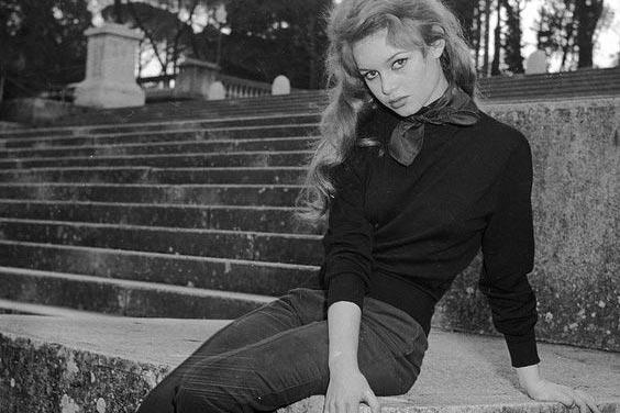 Denim icon Brigitte Bardot