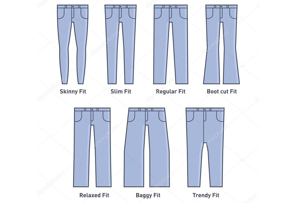 jeans in the decades