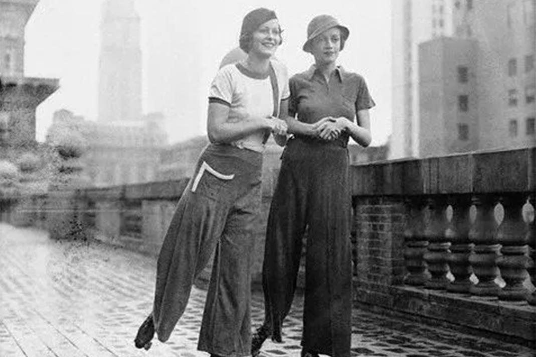donne e pantaloni